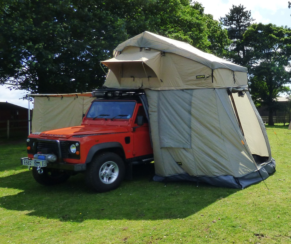 Land Rover Discovery 1 3 Door For Sale: Land Rover Discovery 1&2 3 Man Roof Tent With Annex Travel